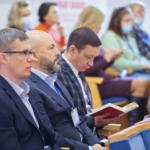 """Конференция """"Бумага – новая роскошь"""" 2021. Организоры «Балтийская пресса», «Типографский комплекс «Девиз» и корпорация Komori"""