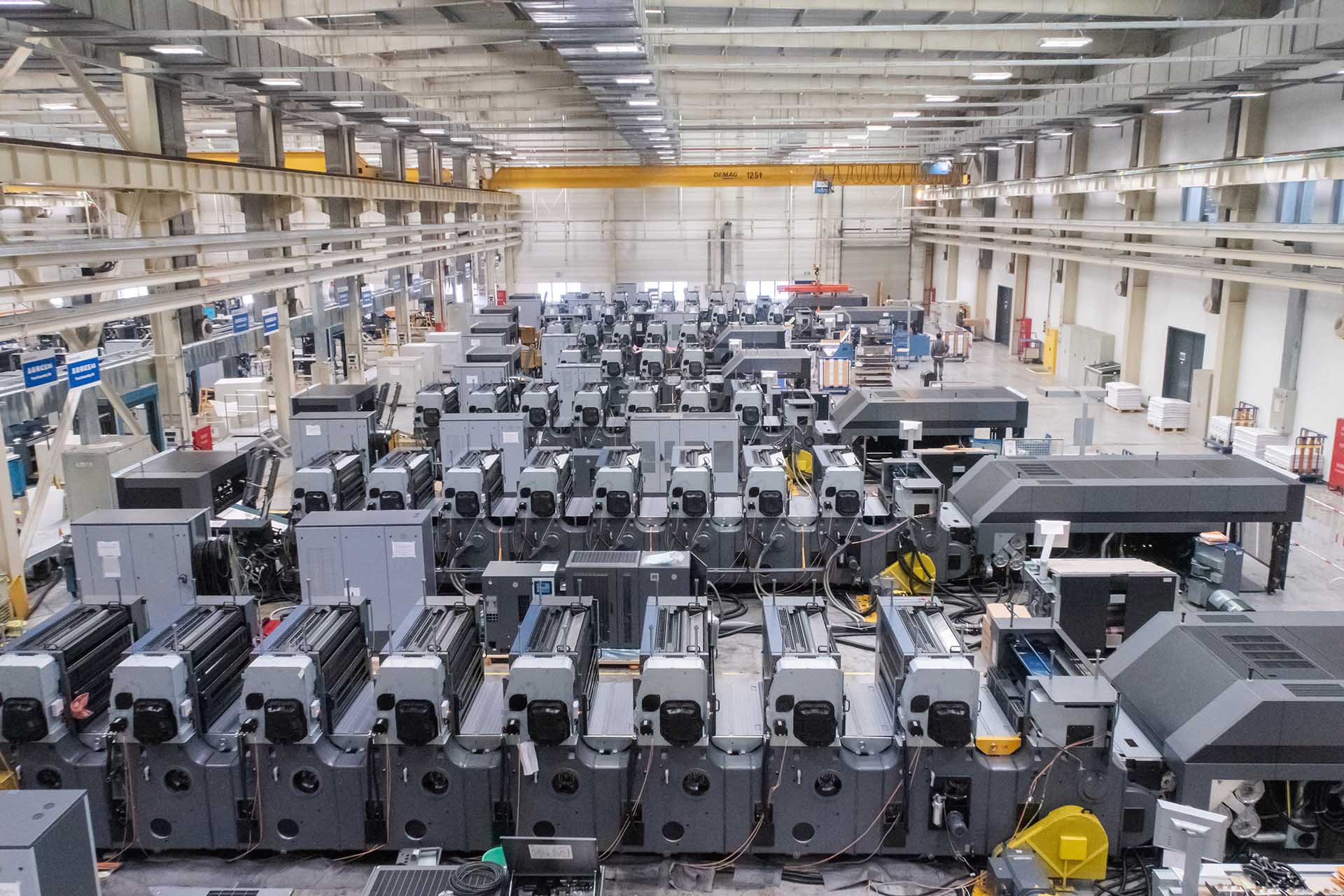 На заводе Heidelberg в Шанхае