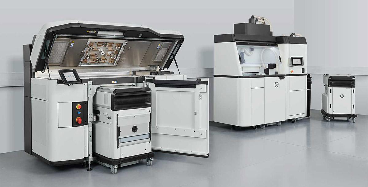 Решение для 3D-печати Jet Fusion 5200