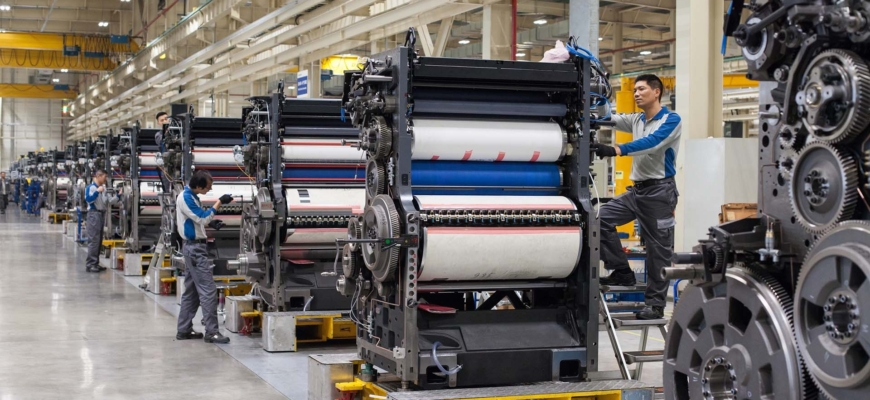 Heidelberg наращивает экспорт печатных машин со своего завода в Шанхае