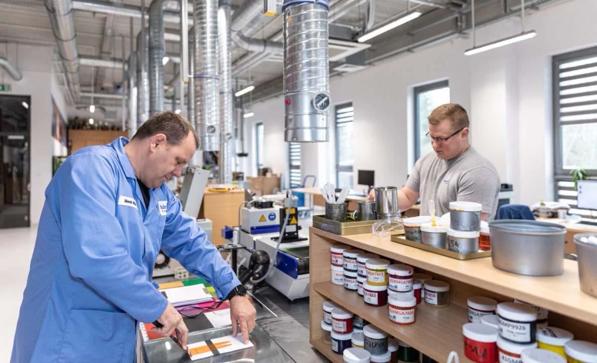 Лаборатории hubergroup