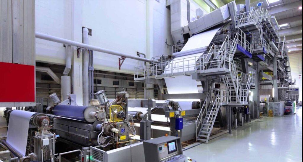 Бумагоделательная машина Mitsubishi HiTec Paper