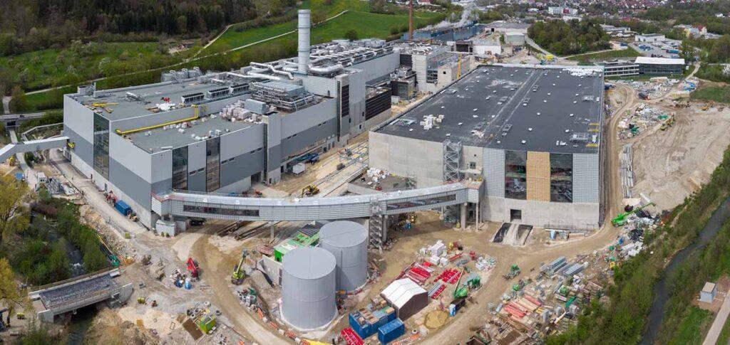 Бумажная фабрика Palm в Аален-Нойкохен