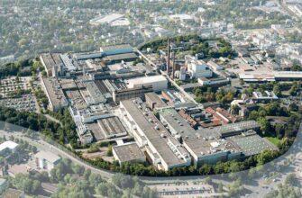 Территория фабрики Zanders