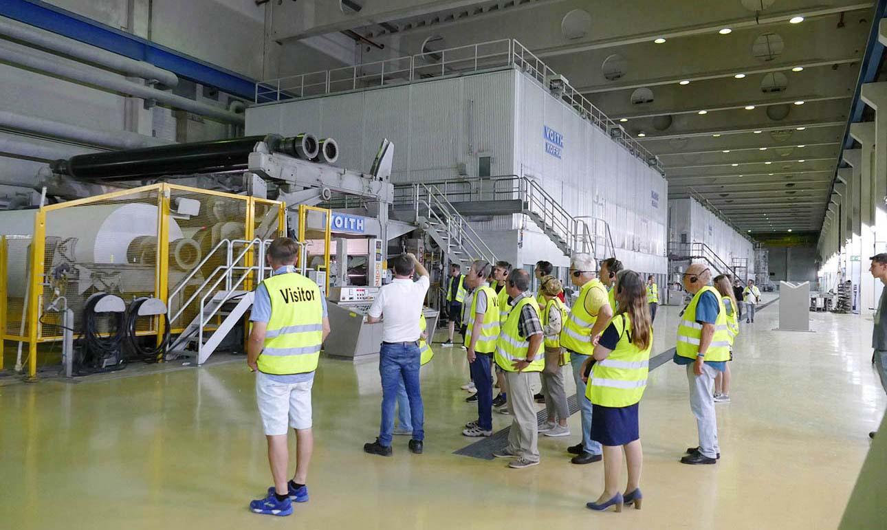 БДМ Voith на фабрике Zanders