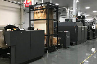 Первая в Китае машина HP PageWide для печати на гофрокартоне