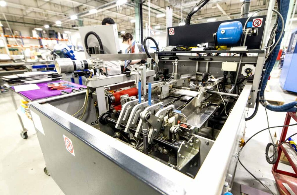 Производственный цех NetPrint