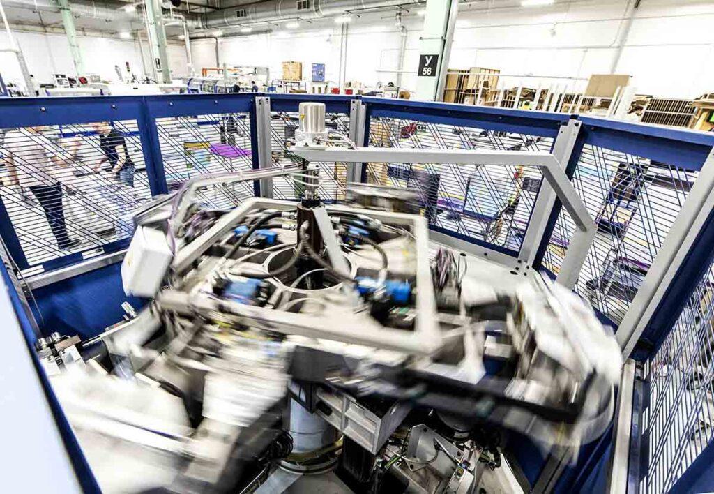 Автоматизированные линии на производстве NetPrint