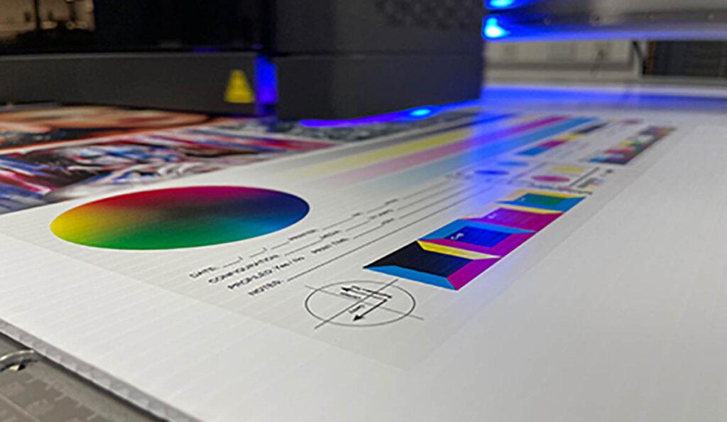 УФ печать на принтере Fujifilm Prime