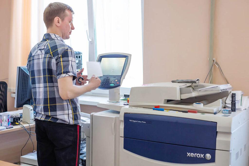 Цифровая печатная машина Xerox Color X700