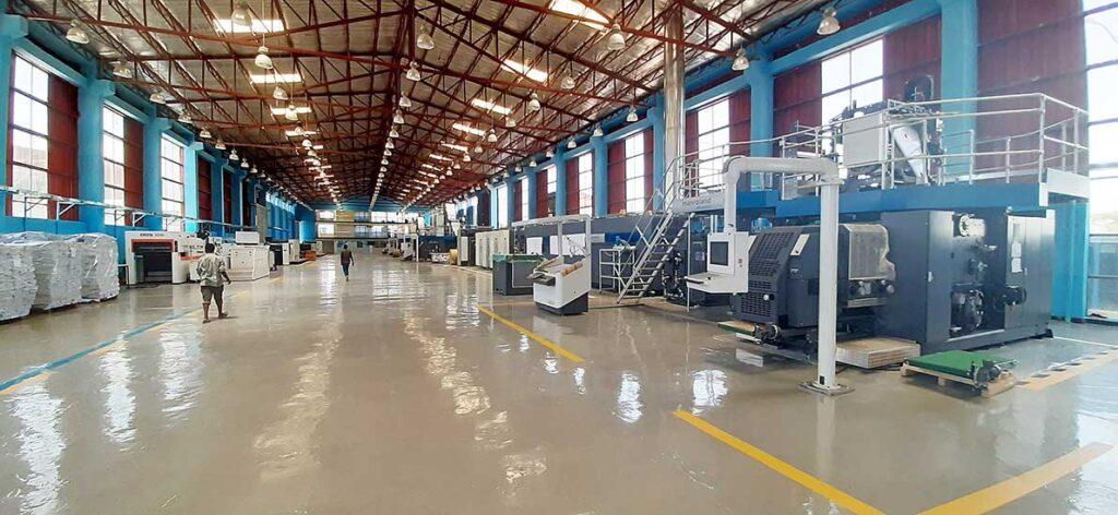 Ролевая печатная машина Типография TBO Printing and Publishing S.C (TBO) в Аддис-Абеба отметила в мае успешный запуск двух рулонных печатных машина Manroland Goss