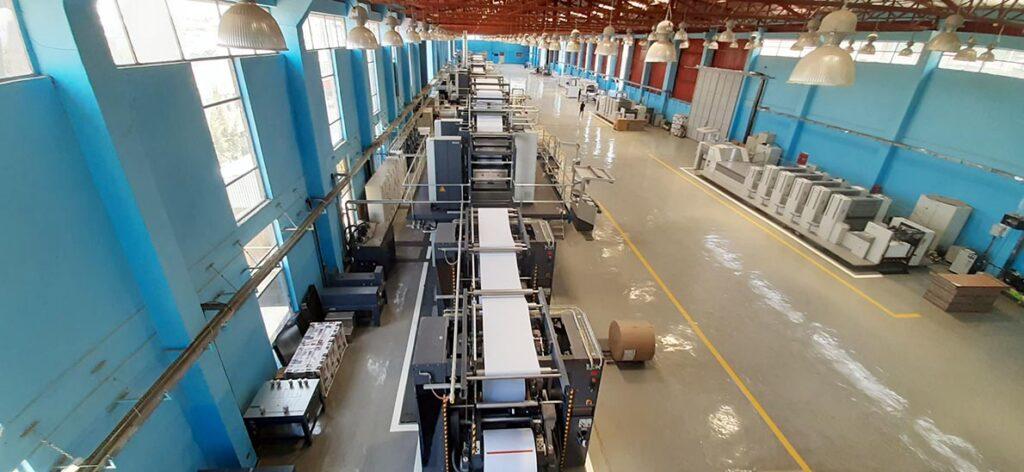 Типография TBO Printing and Publishing с машинами Manroland Goss