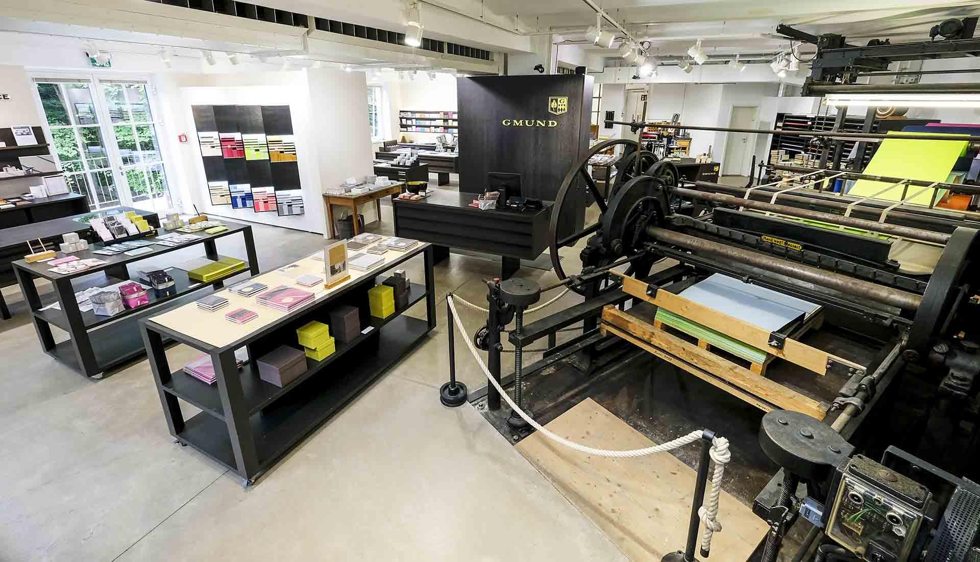 Büttenpapierfabrik in