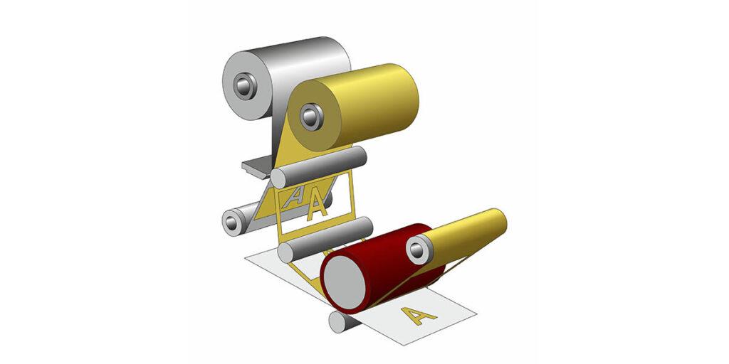Ctfoil press roll