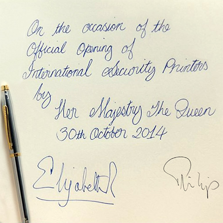 Queen autograph