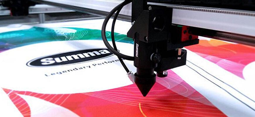 Summa laser cutting