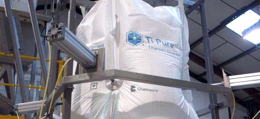 Ti pure titanium dioxide