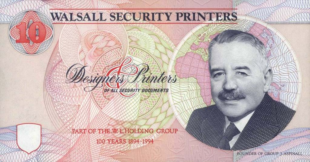 WSP 1993 1994 Walsall Security Printers