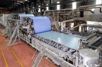 India paper machine wet end