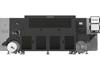 Fujifilm uv inkjet label press lp350