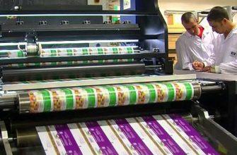 Packaging digital printing