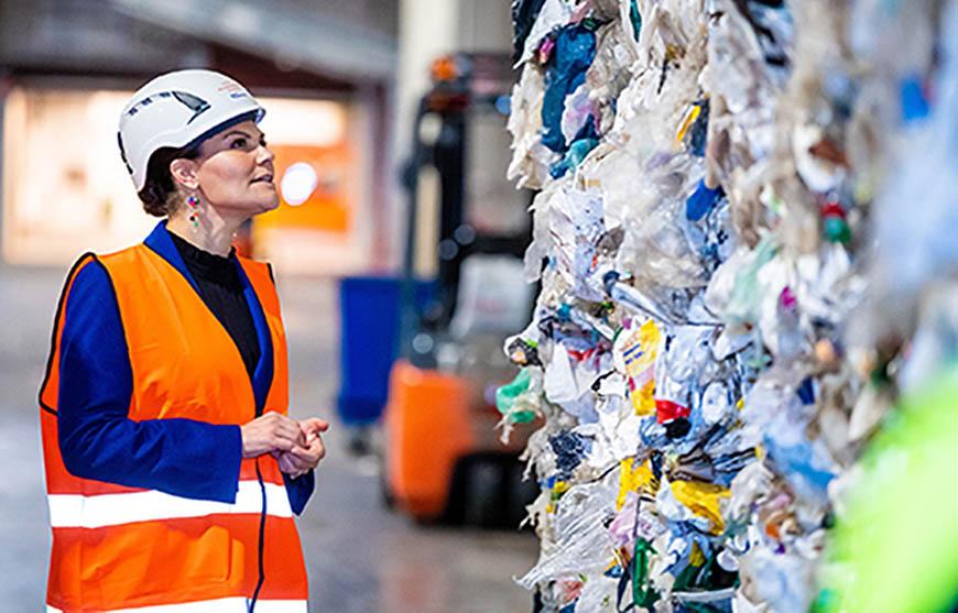 Victoria swedish plastic recycling
