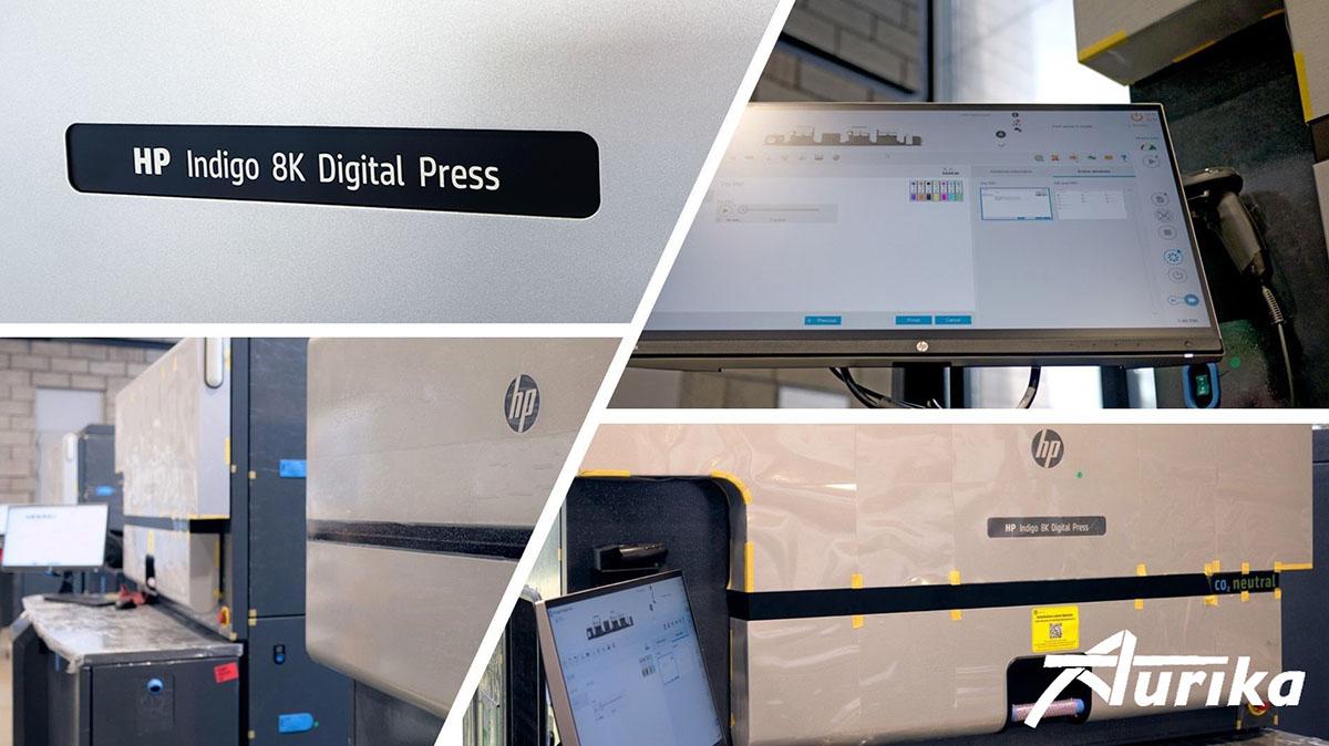 Aurika hp indigo digital press 8k