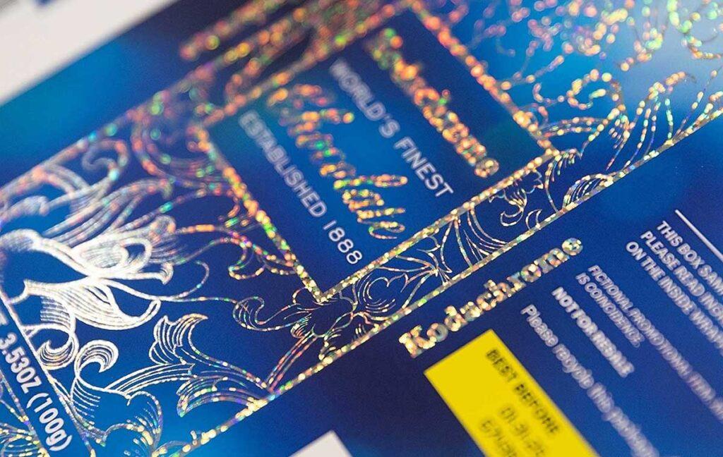 Kodak ascend silver foil packaging