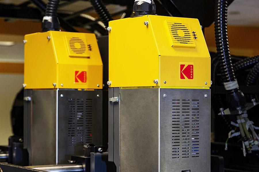 Kodak prosper plus imprinting system